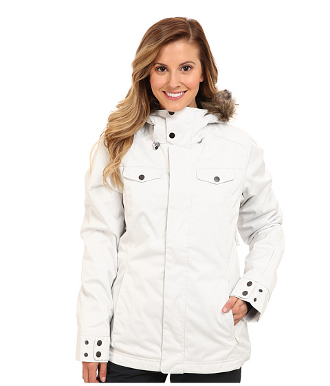 O'Neill Seraphine Jacket (Powder White) Women's Jacket