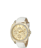 COACH - Boyfriend 40MM Leather Strap Watch