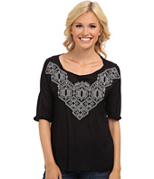 Lucky Brand - Sydney Embroidered Top