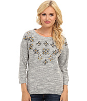 Lucky Brand - Embellished Pullover