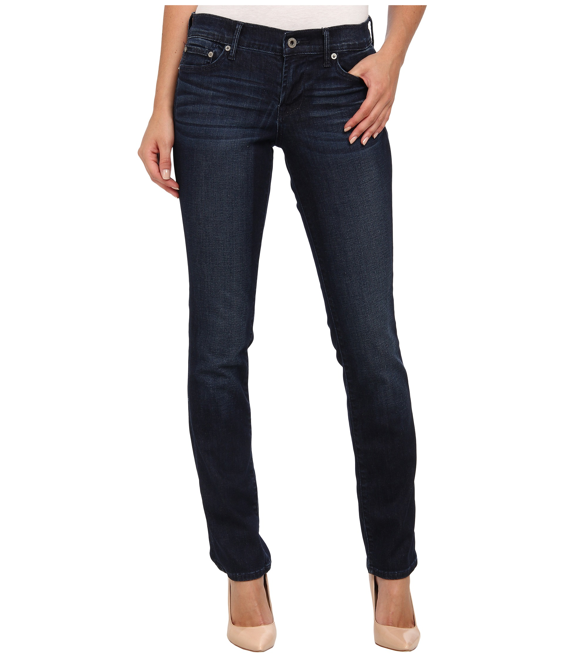 Lucky Brand Jeans Women Straight Leg | Shipped Free at Zappos