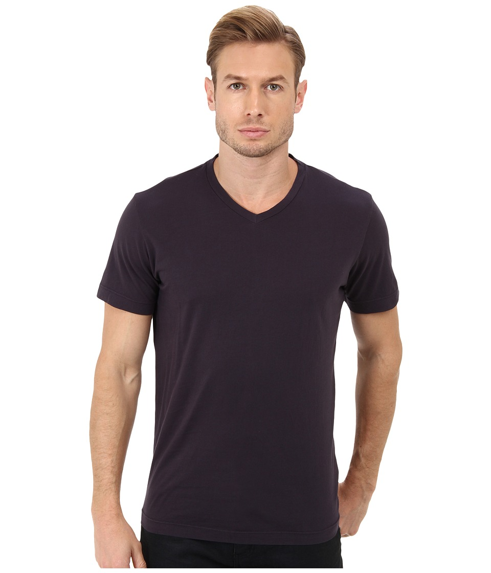 Velvet by Graham amp Spencer Whisper Jersey V Neck T Shirt Yankee Mens Short Sleeve Pullover