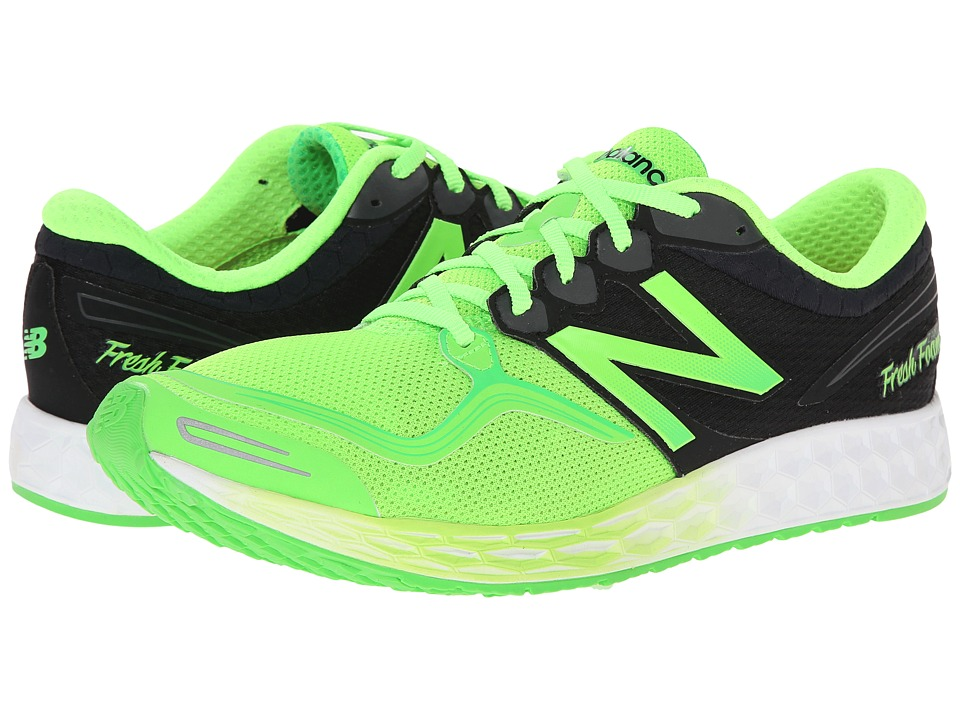 New Balance - Fresh Foam Zante (Green/Black) Men's Running Shoes