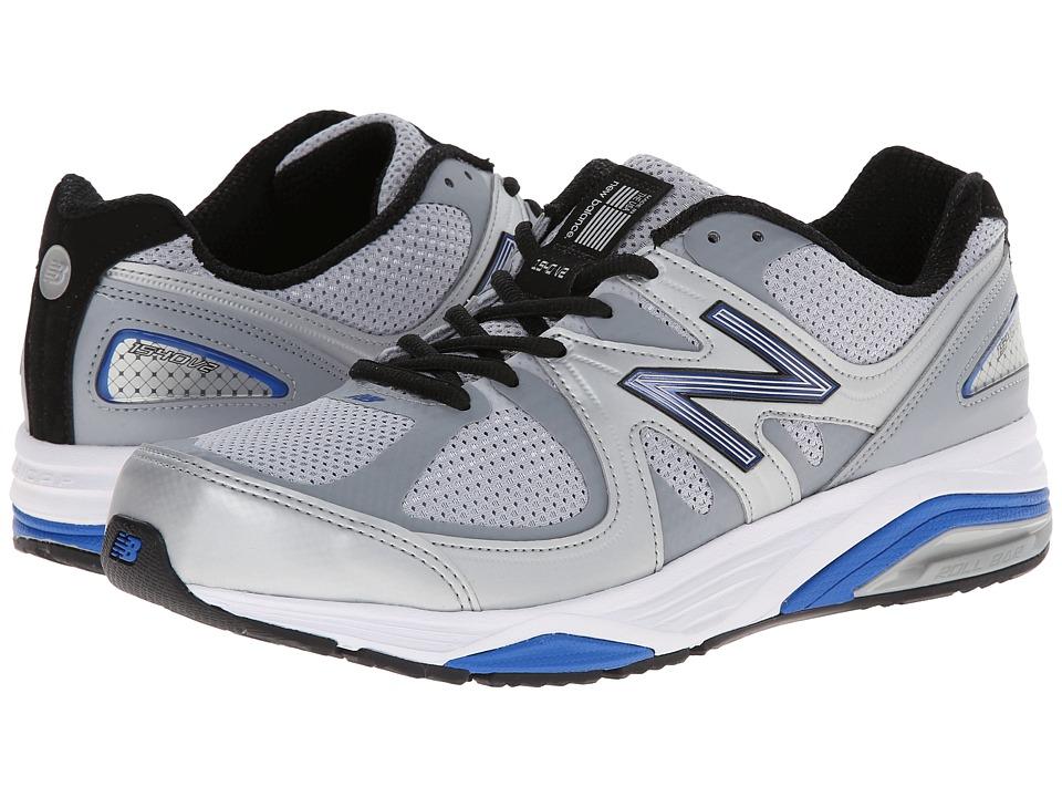 New Balance M1540v2 (Silver/Blue) Men's Running Shoes