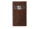 Ariat Tooled Cross Concho Rodeo Wallet