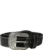 Ariat - Basket Weave Tab Beaded Belt