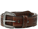 Ariat Tapered Embossed Inlay Belt