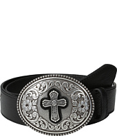 Ariat - Winged Belt w/ Large Cross Buckle