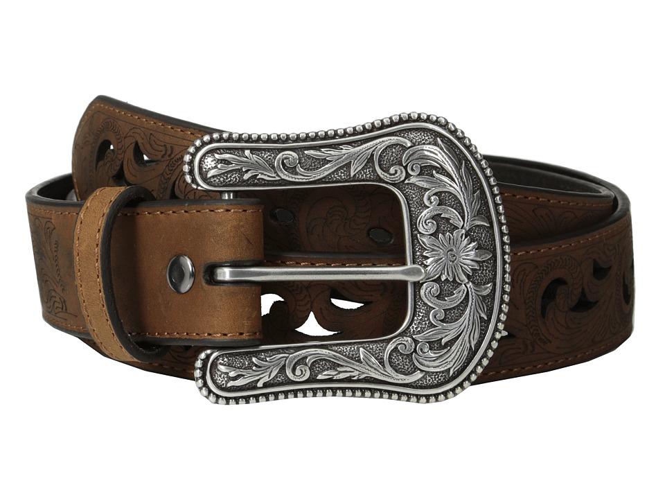 Ariat - Scroll Paisley Pierced Belt