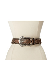 Ariat - Patent Inlay Cross Concho Belt