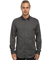 John Varvatos Star U.S.A. - Slim Fit Shirt w/ Slim Collar and Body Seaming W481Q4L
