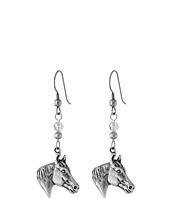 M&F Western - Horsehead Drop Earrings