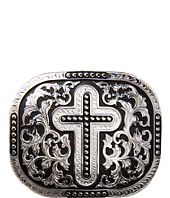M&F Western - Rectangle Cross Scroll Buckle