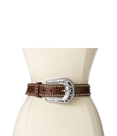 M&F Western - Scalloped Croco Diamond Concho Belt