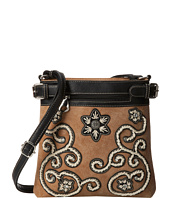 M&F Western - Floral Stitch Crossbody