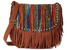 M&F Western Southwest Fringe Shoulder Bag (Tan)