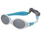 Julbo Eyewear - Looping 1 Baby Sunglasses, White/Blue w/ Spectron 4 Baby Lenses (0-18 Months)