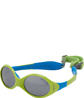 Julbo Eyewear - Looping 2 Baby Sunglasses 2014, Lime/Blue w/ Spectron 4 Baby Lenses (12-24 Months)