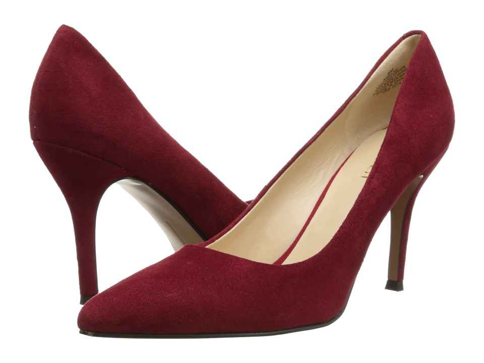 Nine West Flax (Red Suede 2) High Heels