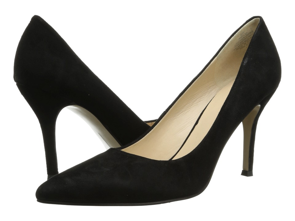 Nine West Flax (Black Suede 2) High Heel Shoes