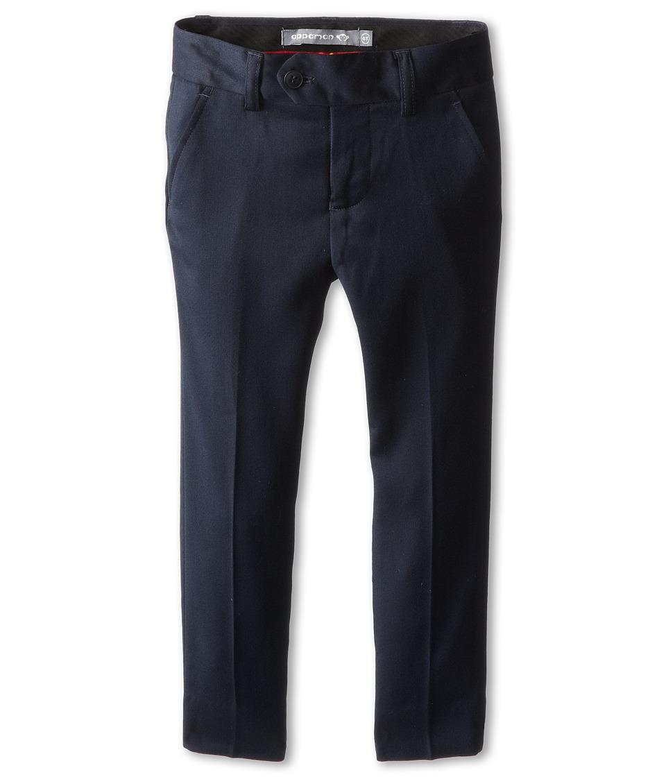 Appaman Kids - Classic Mod Suit Pants (Toddler/Little Kids/Big Kids) (Navy Blue) Boys Dress Pants