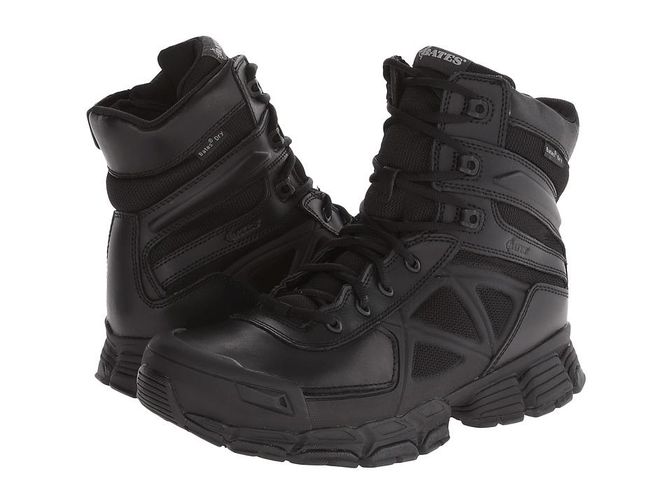 Bates Footwear - Velocitor Waterproof Zip (Black) Mens Boots