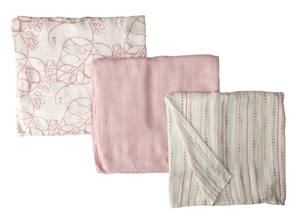 Aden + Anais Silky Soft Swaddle 3-Pack (Tranquility) Shee...