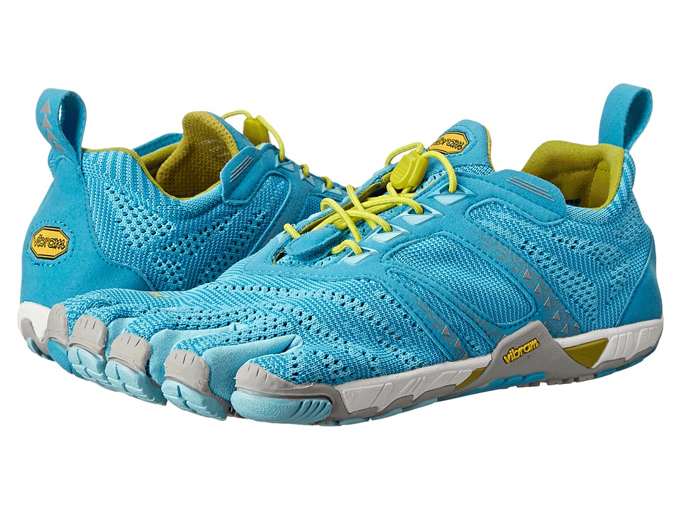 Vibram FiveFingers KMD EVO Light Blue/Grey/Yellow Womens Shoes