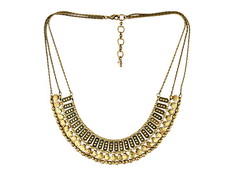 Lucky Brand Textured Metal Necklace