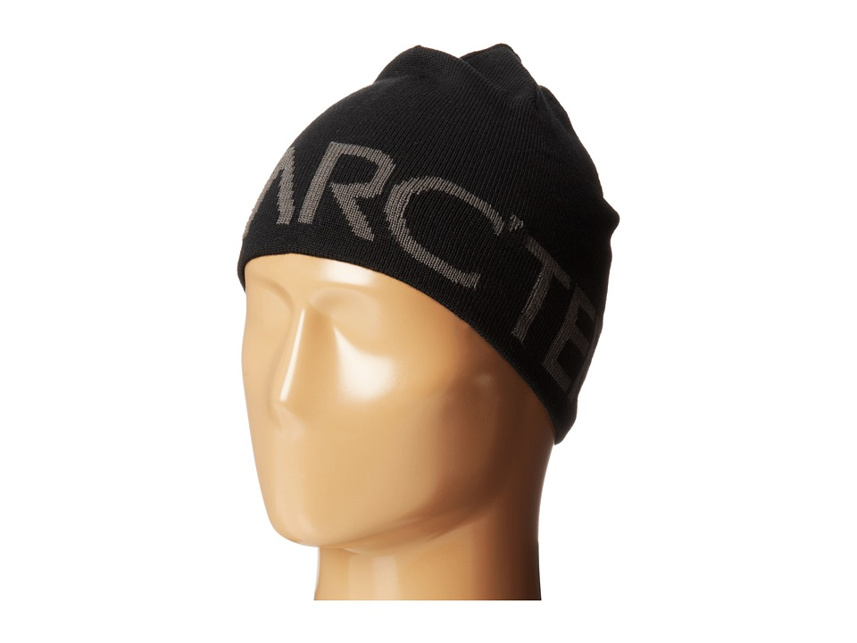 Arcteryx Word Head Toque Black/Iron Anvil Beanies
