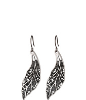 Lucky Brand - Openwork Feather Earring