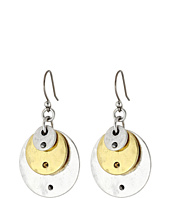 Lucky Brand - Two-Tone Disk Earring