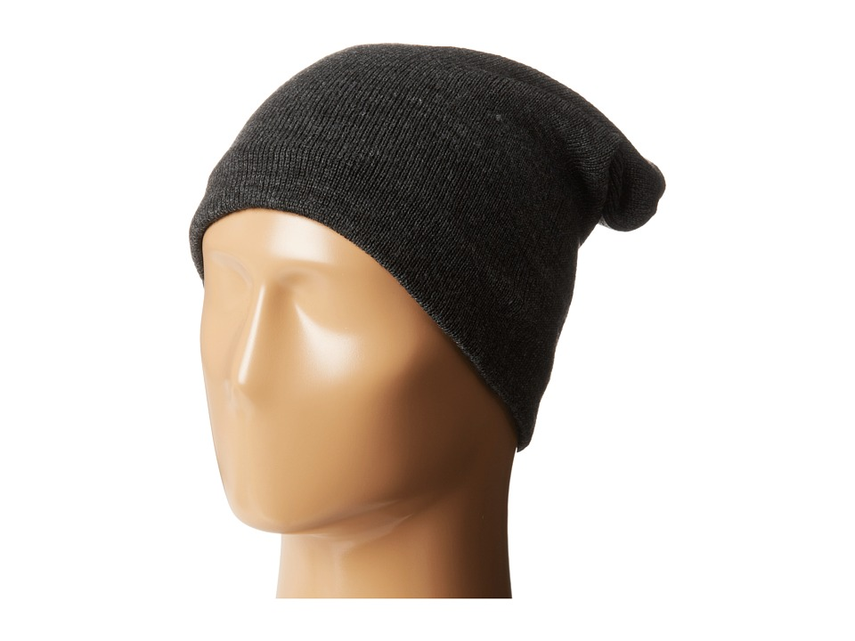 Plush Fleece Lined Barca Hat Charcoal Cold Weather Hats