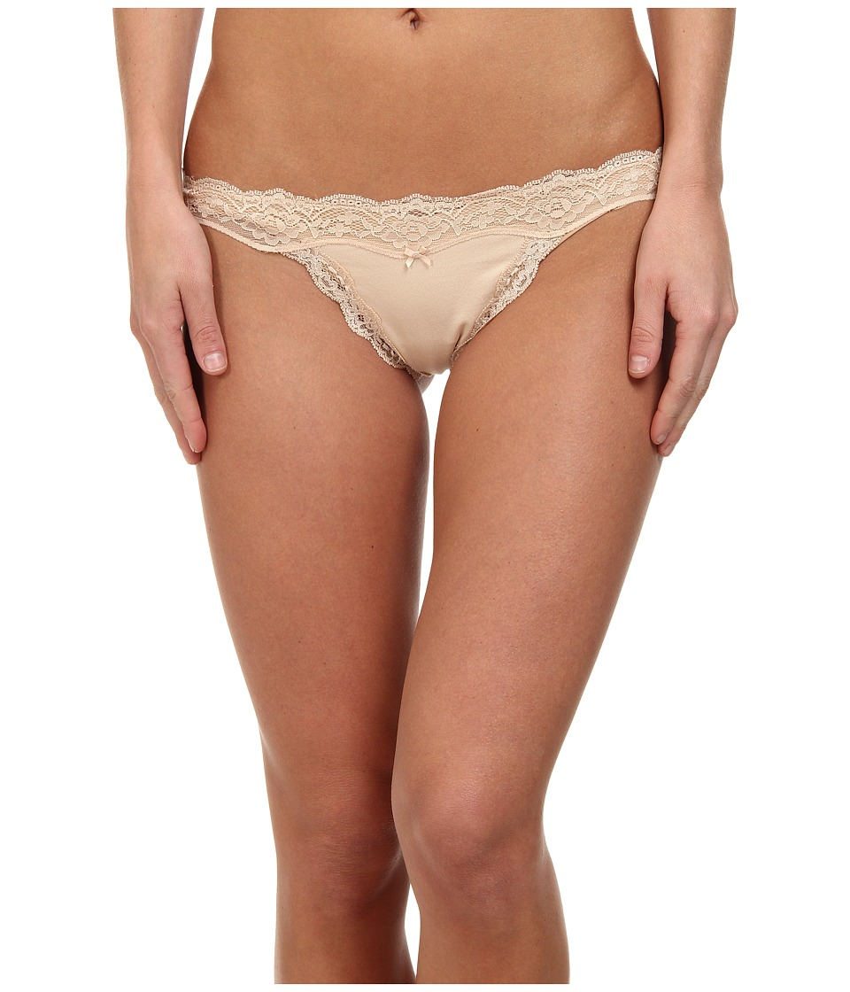 DKNY Intimates Downtown Cotton G String Pretty Nude Womens Underwear