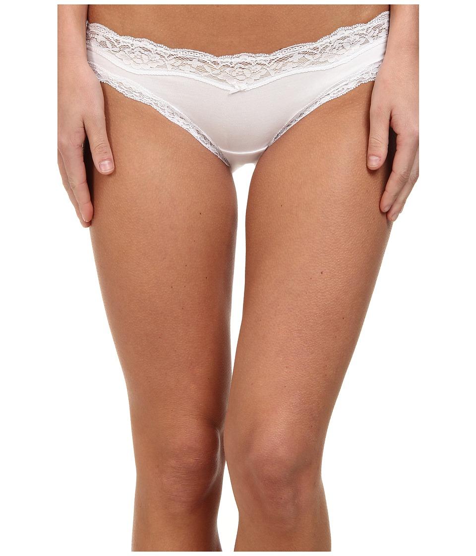 DKNY Intimates Downtown Cotton Bikini White Womens Underwear