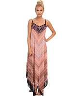 KAS New York - Delphnie Maxi Dress with Embroidered Bodice