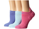 Nike Dri-Fit Cushion No Show 3-Pair Pack (Polar/White/Pinksicle/Polar/Ice Blue/White)