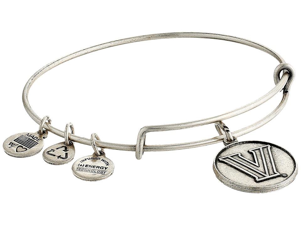 Alex and Ani - Villanova University(r) Logo Charm Bangle (Rafaelian Silver Finish) Bracelet