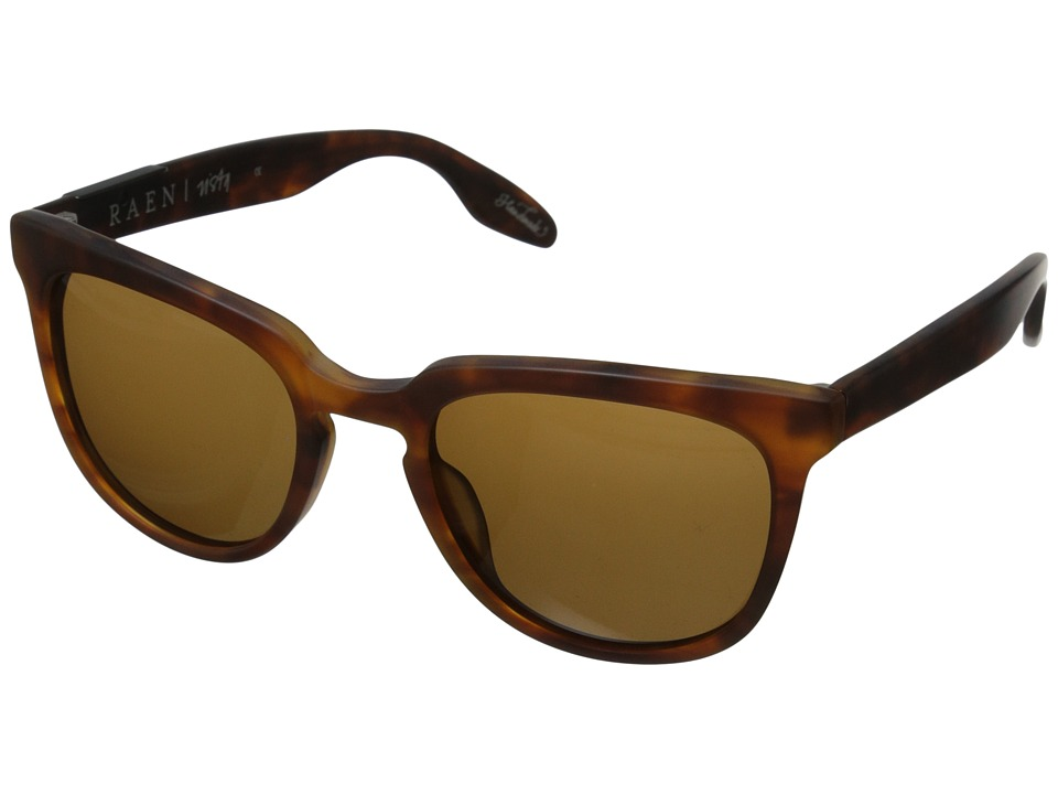 RAEN Optics Vista Matte Rootbeer Fashion Sunglasses
