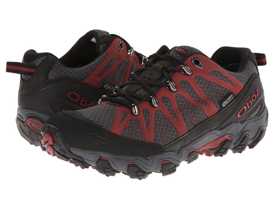 Oboz Traverse Low BDRY Russet Mens Shoes