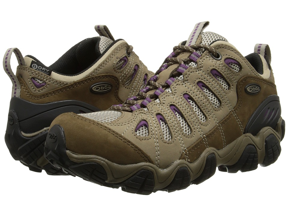 Oboz Sawtooth Low BDry Violet Womens Shoes