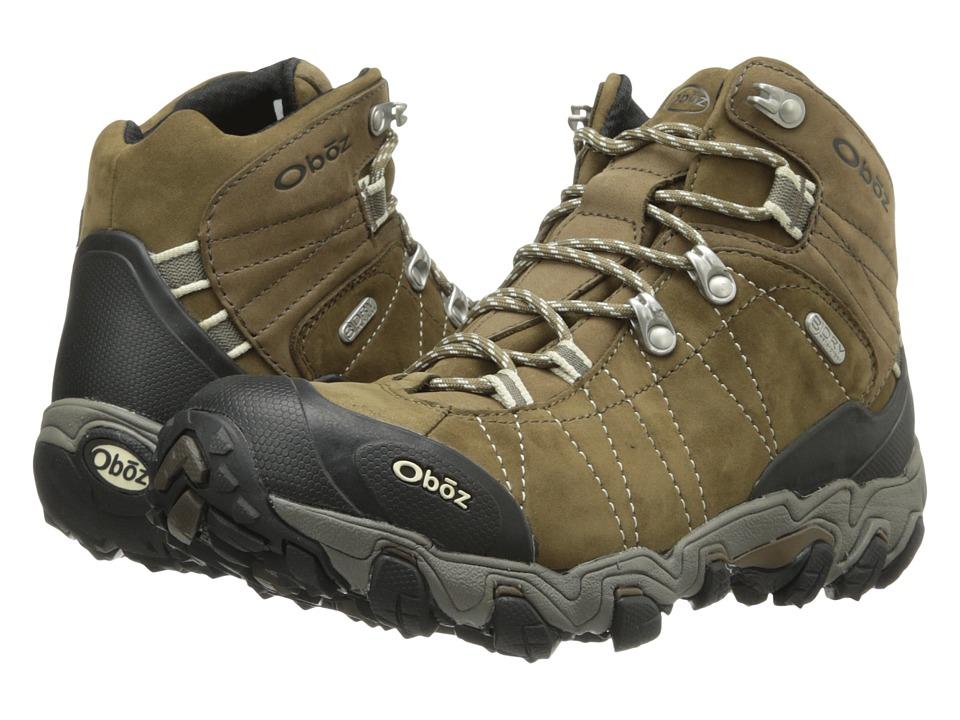 Oboz Bridger BDRY Walnut Womens Hiking Boots