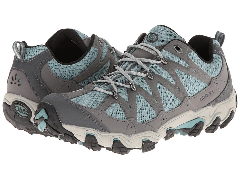 Oboz Luna Low Mineral Blue Womens Shoes