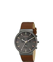 Skagen - Ancher Leather Chronograph