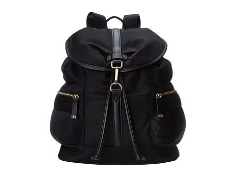 Calvin Klein Nylon Backpack - Black/Gold