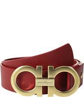Salvatore Ferragamo - Double Gancini Adjustable Belt 679068