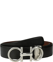 Salvatore Ferragamo - Double Adjustable Gancino Calf Belt (679108)