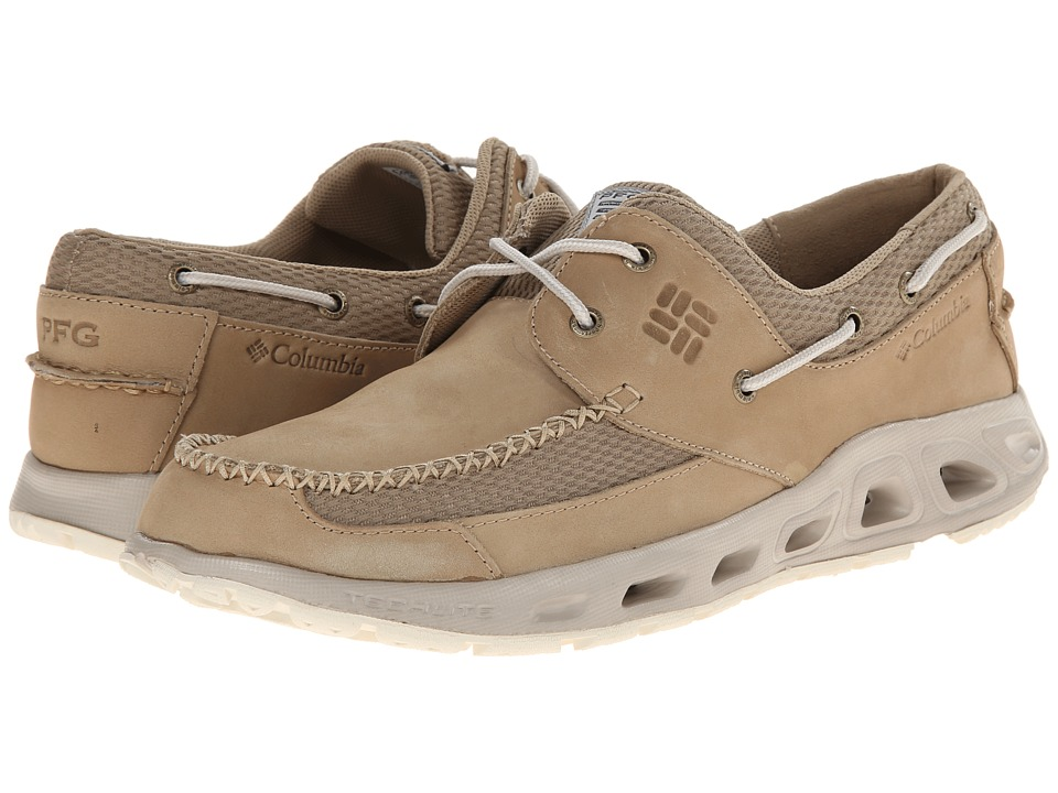 Columbia Boatdrainer II PFG (British Tan/Stone) Men's Shoes
