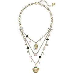 Betsey Johnson Pet Shop Vintage Dog Illusion Necklace