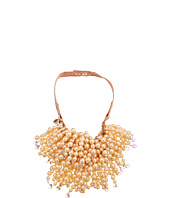 Betsey Johnson - Pinktina CS Large Pearl Multi Strand Necklace